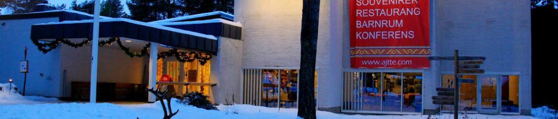 Entrance to Ájtte, Swedish Mountain and Sami Museum Photo: Tenneh Kjellsson