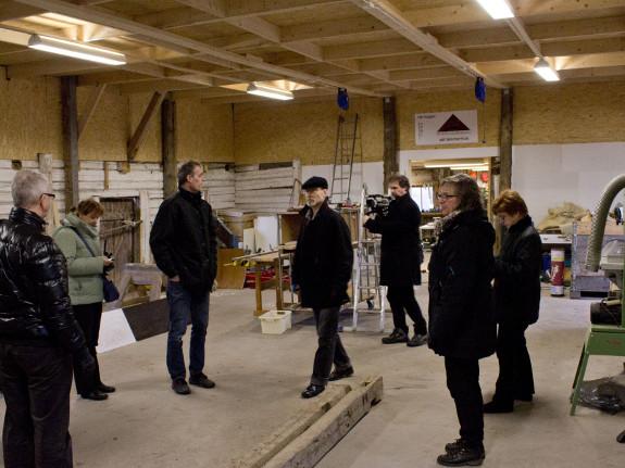 Inside Götene Företahskooperativ's main facility