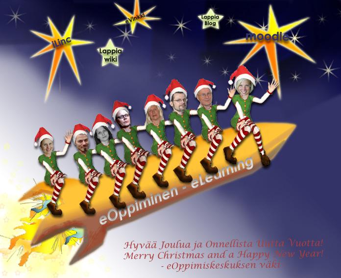 eOK:n joulukortti 2009