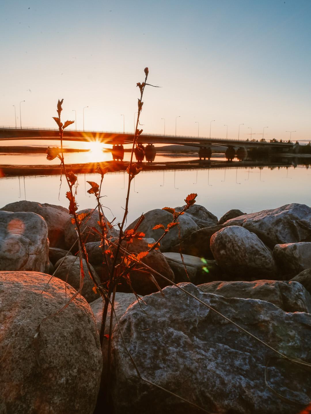Summer night in Rovaniemi