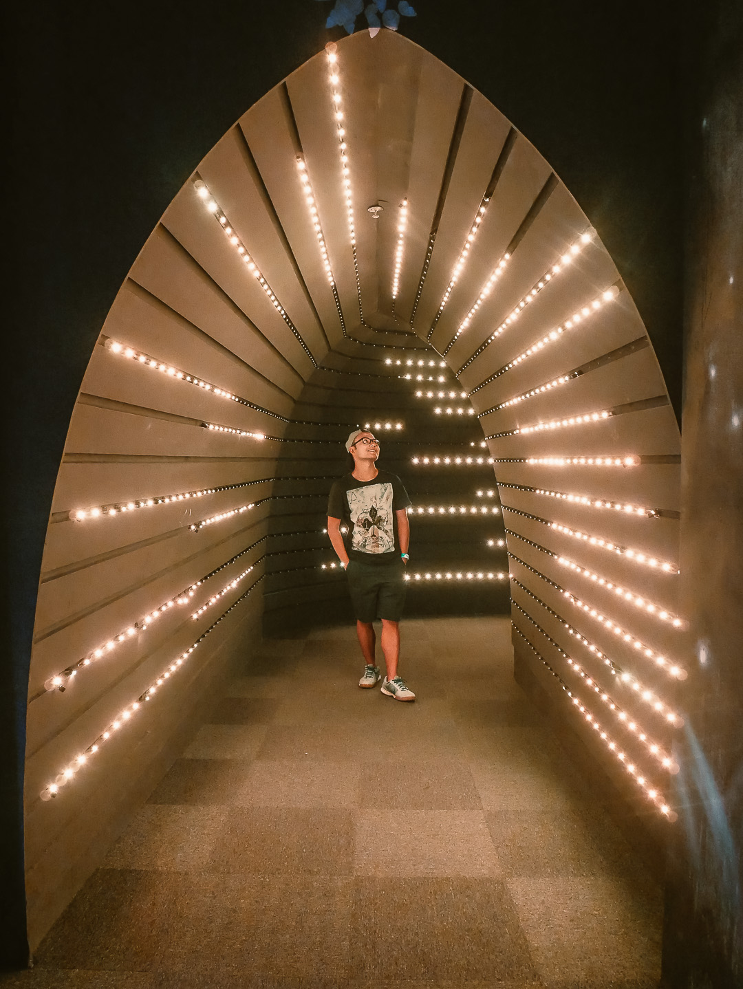 Light Tunnel at Penang Butterfly Farm