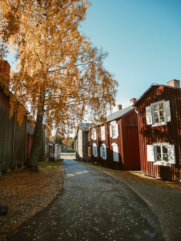 Öjeby Town in Piteå