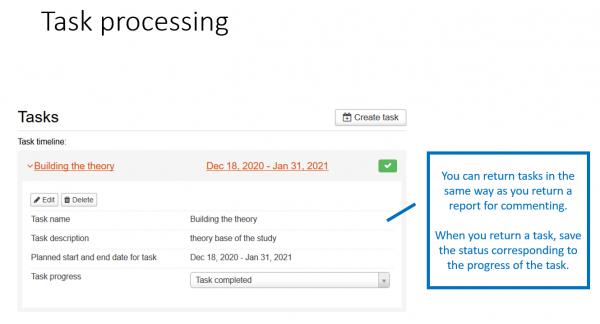task processing